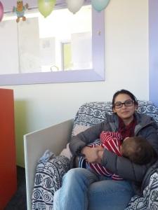 Elias mum and baby 1