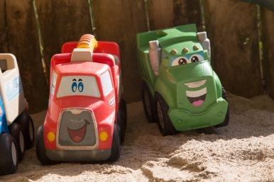 Kinderen Sandpit